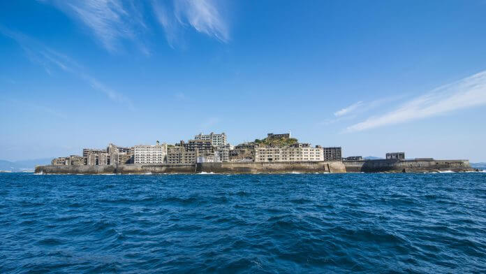 Japan's Most Densely Populated Island Hashima
