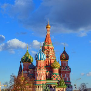 Moscow - Capital of a continent