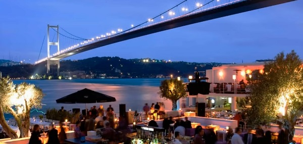 Rooftop Cafes in Istanbul
