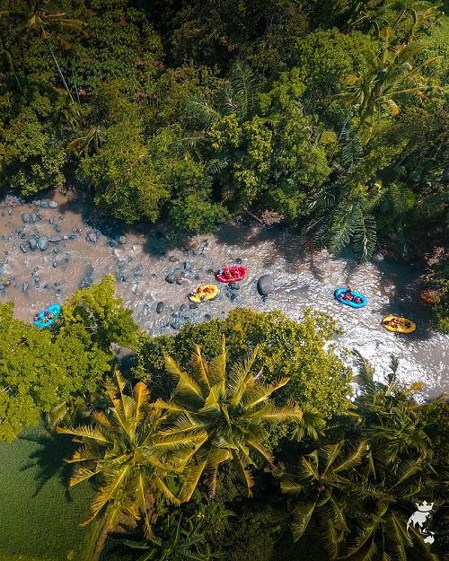 Lombok Island Rafting Lingsar River